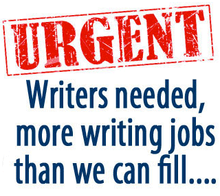Urgent writers wanted