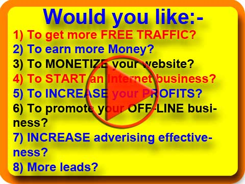 Click here to watch the video on how to get free traffic to your website or click on the button below to register your website
